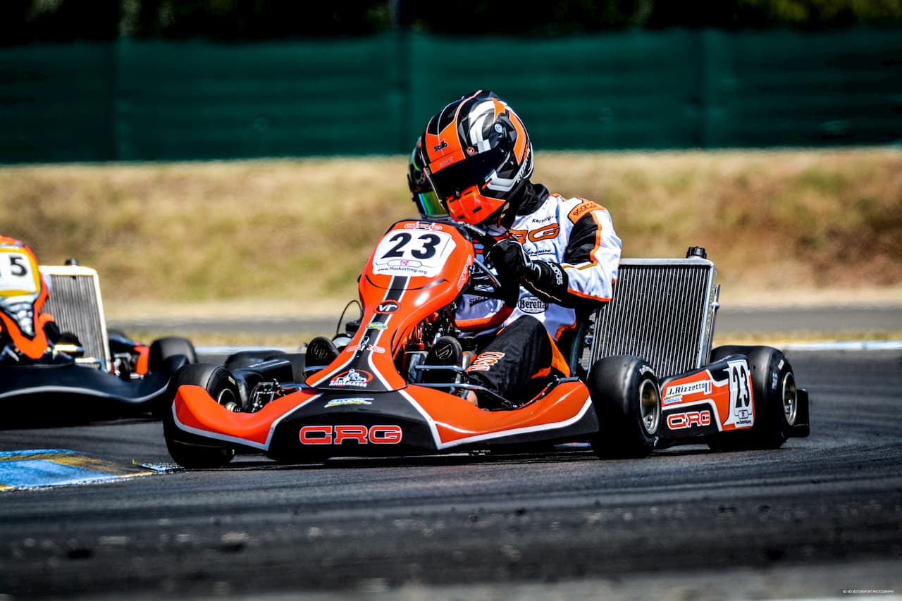 Julien Rizetto ASK Annemasse Karting